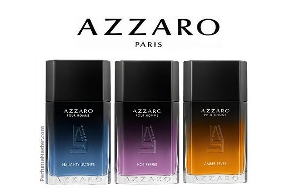 bf849b595fd Azzaro Pour Homme - Amber Fever -Hot Pepper - Naughty Leather -  PerfumeMaster.com