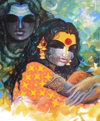 Lord Eshwara & Parvathi