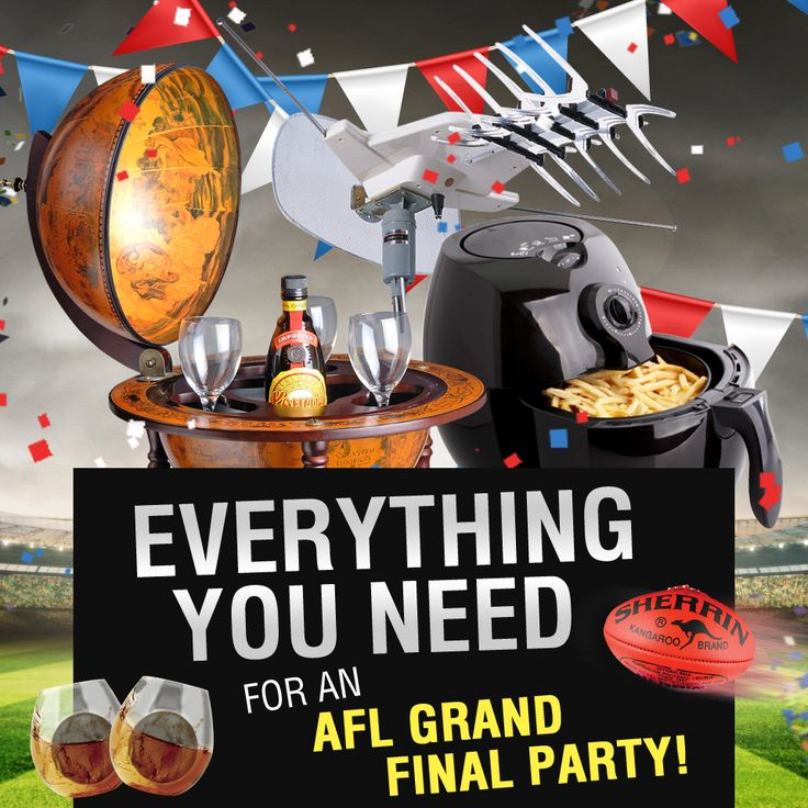 Missed our AFL finals giveaway? How come you miss these things for AFL grand final party again? #AFL #AFLFinals #party