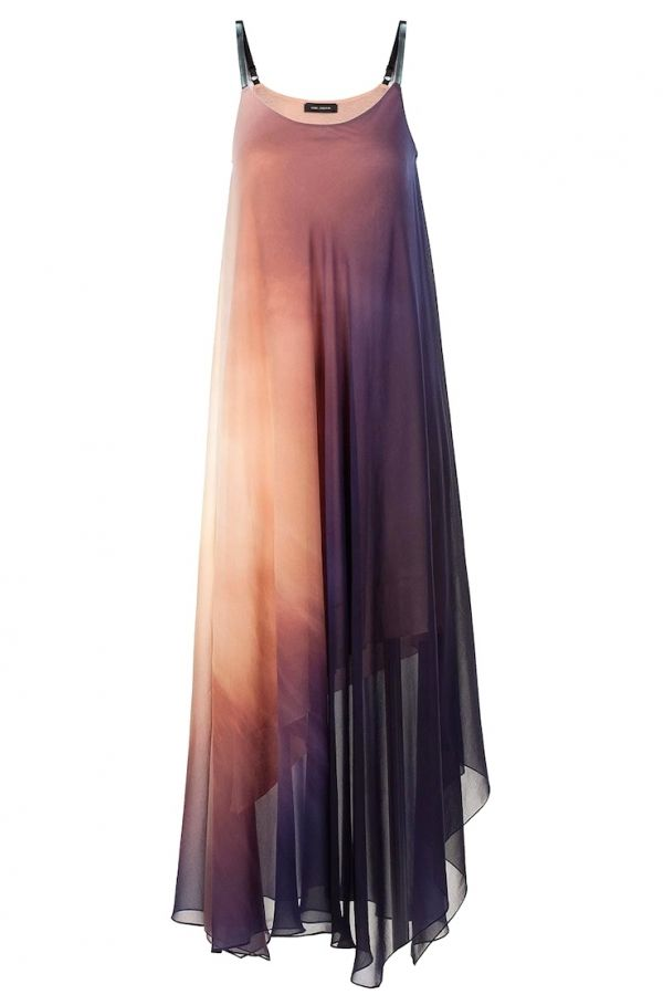 LIZOUM Asymetric dress, this color ways is pretty spectacular too