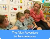 The Allen Adventure in the classroom (for under 8s). Bullying. No Way! is an educational website for Australian school communities and the general public managed by the Safe and Supportive School Communities. It is a collaborative initiative of all Australian education authorities. Bullying. No Way! covers all types of bullying including cyberbullying.