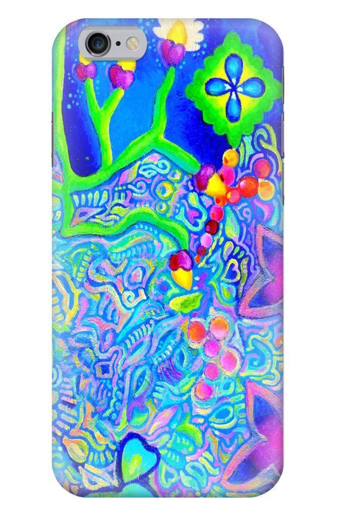 Sea Foam iPhone Glossy Case
