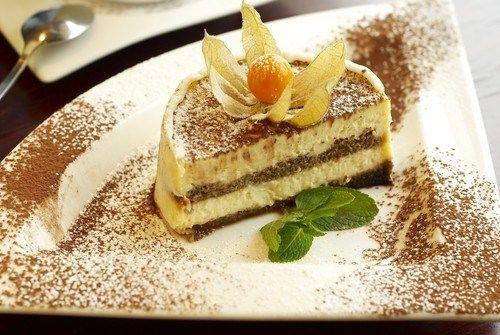Десерт «Тирамису» с зеленым чаем и мятой рецепт – итальянская кухня: выпечка и десерты. «Афиша-Еда»
