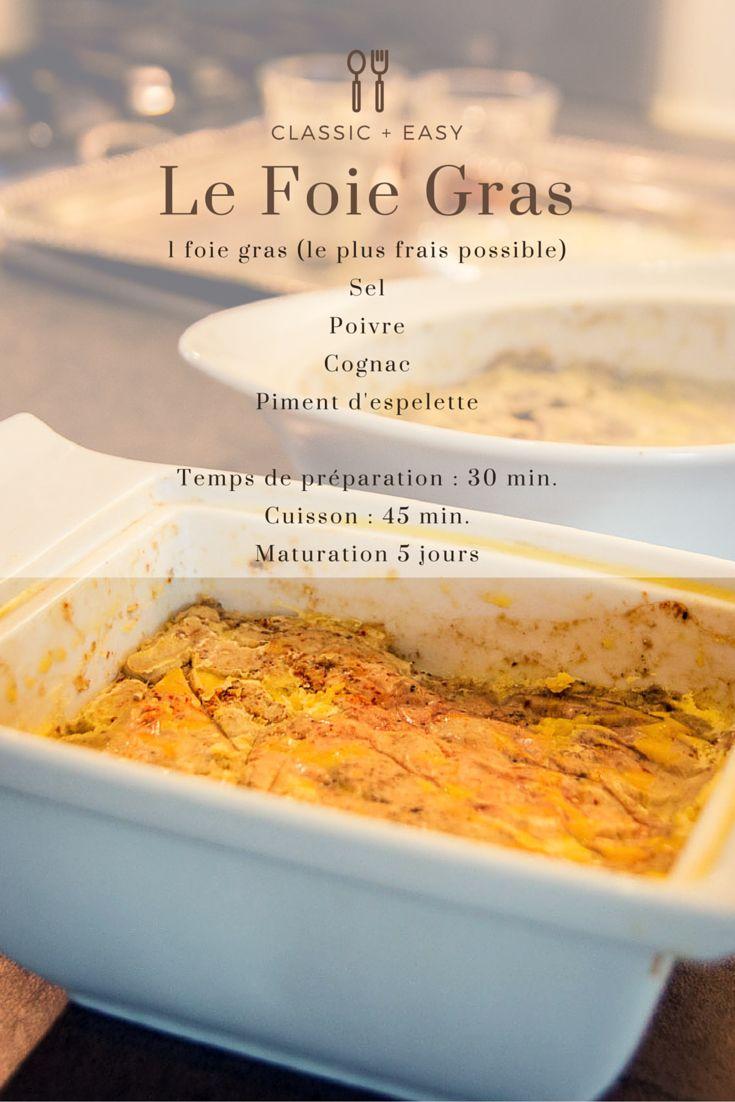 La recette du foie gras par Pablo.  Les recettes de la Vallée de la Dordogne