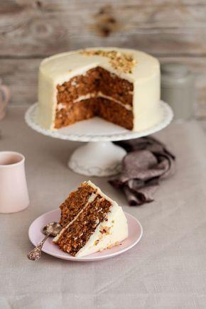 TARTA DE ZANAHORIAS ( Carrot Cake )