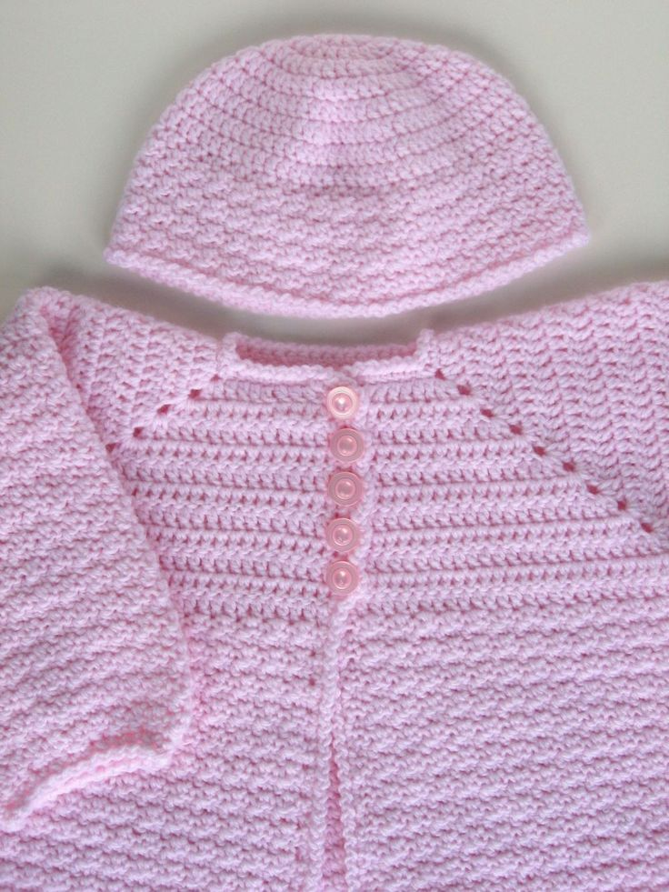 1051 best Crochet Baby Sweaters images on Pinterest | Crochet baby ...