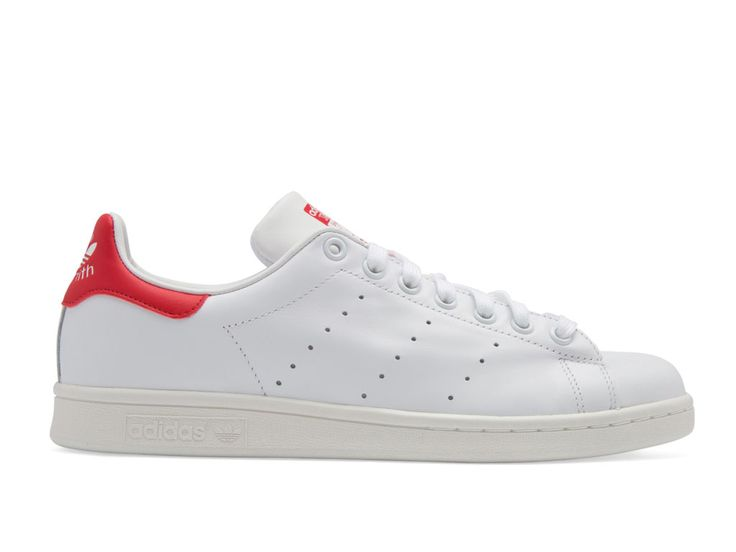adidas stan smith 2 femme rouge