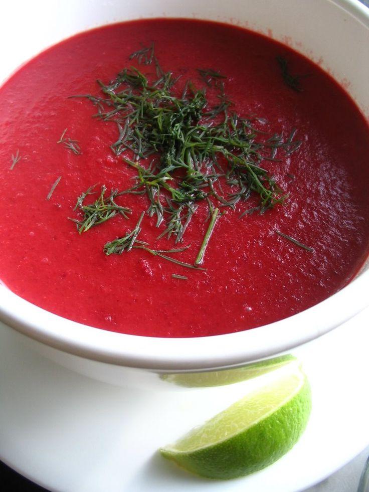 Almost Turkish Recipes: Roasted Beet Soup (Fırınlanmış Pancar Çorbası)