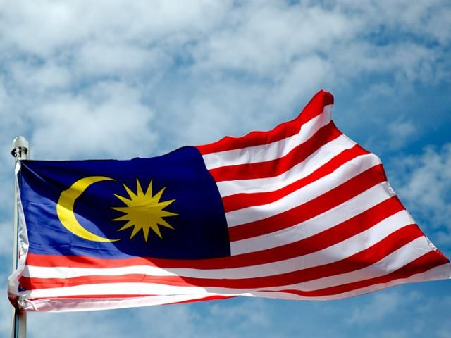 The 14 stripes represent the equal status .Blue represent the unity of malaysian people .The yellow star and crescent is the royal colour of the Malay rulers.
