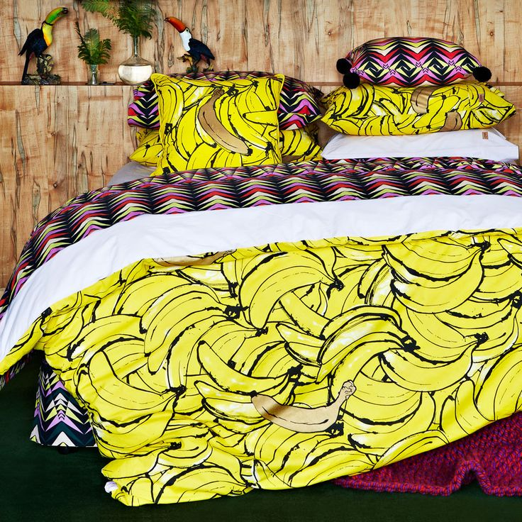 Bananas Kip And Co Bedding Http Www Huntingforgeorge