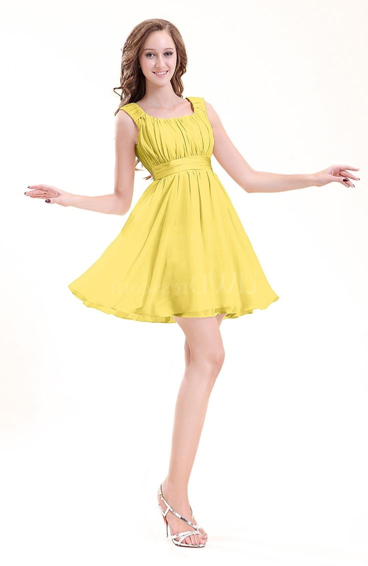 Yellow Dress For Wedding Party