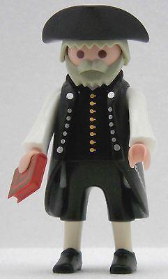 FEINER HERR IM GEHROCK Playmobil zu Richter Pfarrer Kaufmann Gelehrter USA 1790