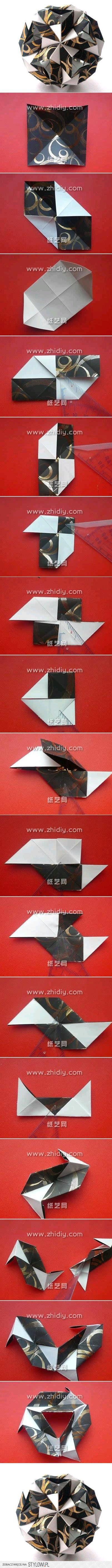 Kusudama Origami Folding Instructions Lantern | Origami ... The Stylowi.pl