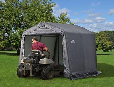 Lawn Mower Storage Shed
