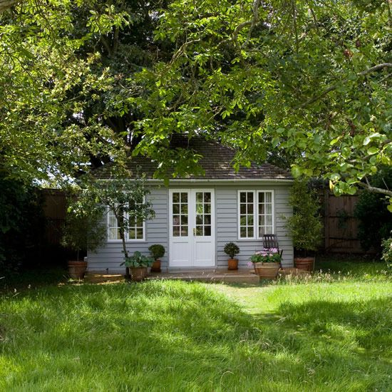f you've got space at the back of your garden, a pretty summer house will provide the ideal retreat for a spot of reading and relaxing, and even as extra space for overnight guests.