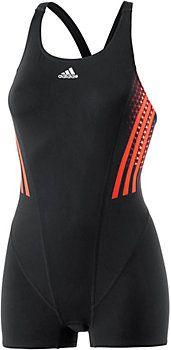 adidas Schwimmanzug Damen schwarz/orange im Online Shop von SportScheck kaufen