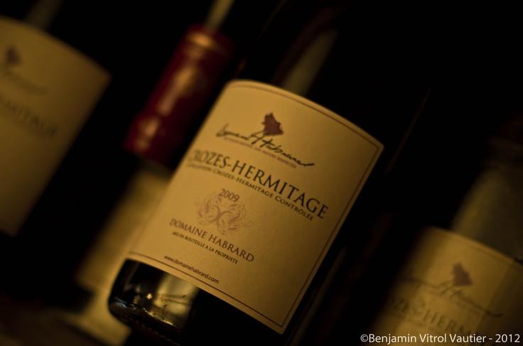 The Crozes Hermitage from Domaine Habrard Winery (http://domainehabrard.com/degustation-vin/fr/29/vin-producteur-degustation-de-vin-sur-internet-flacons-de-vins-chez-vous-hermitage-crozes-hermitage-saint-joseph.html)