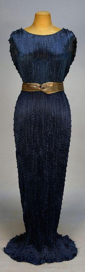 Fortuny Delphos Gown, c. 1930