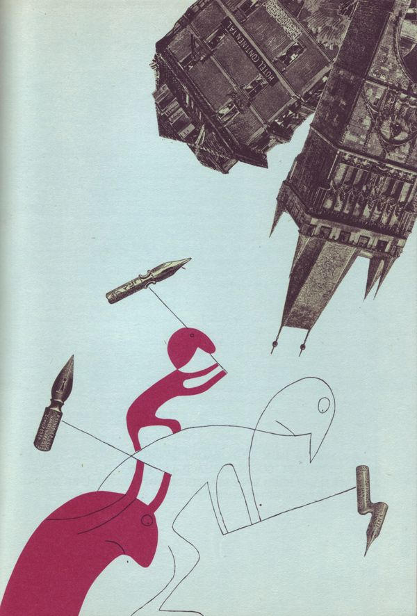 Gulliver's Travels to Prague.  Bohumil Stepan's illustrations for Gulliverovy Cesty (Gulliver's Travels),  Prague 1968