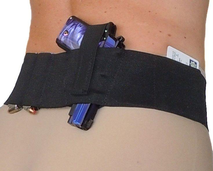 Ladies Womens Concealed Carry Belly Band Gun Holster - Hidden Heat 3 #HiddenHeat3 #BellyBand