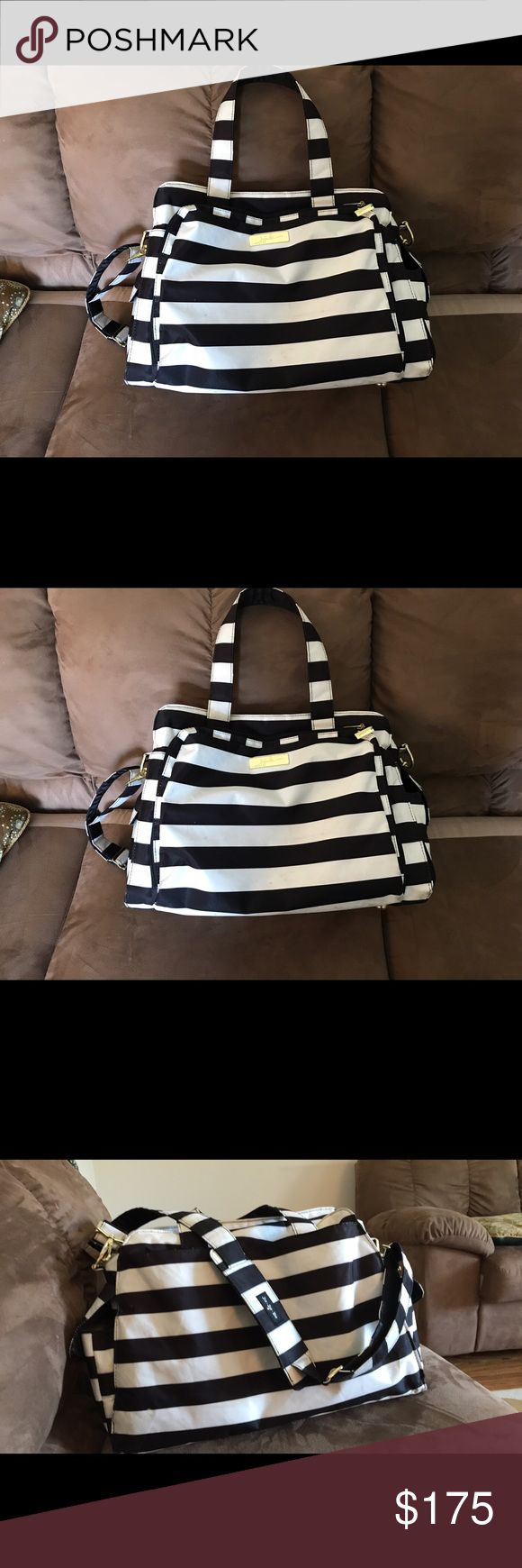 Jujube Be Prepared Diaper Bag EUC jujube Be Prepared diaper bag. Minor scuffs visible but would prob come out with a good wash. Changing pad included.      Willing to trade for a Be Right Back! jujuBe Bags Baby Bags