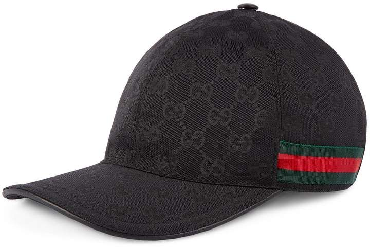 3bc72eb9ba061 Original GG canvas baseball hat with Web Gucci  ShopStyle  MyShopStyle  click link to see more information