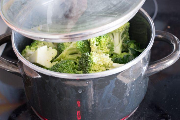 Brokkoli dünsten