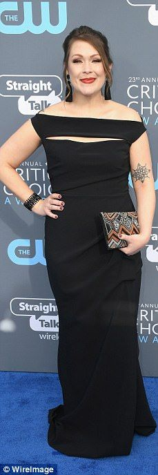 Classic:Alana Boden, Amber Nash, Justina Machado and Jackie Hoffman decided to go for bla...