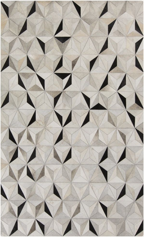 Cool geometric print, sleek and modern feel. New from Surya. Part of the Trail Collection. (TRL-1128)