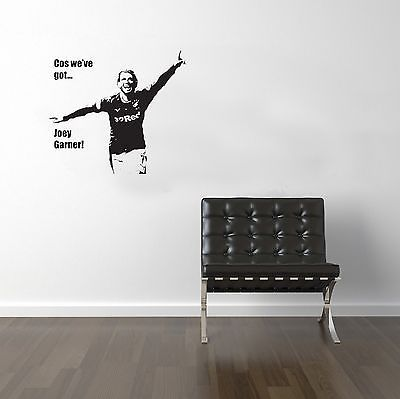 Joey Garner Rangers FC Vinyl Transfer Sticker Decal Wall