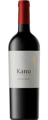 Kanu Keystone 2006 deep colour. Bordeaux style dry red