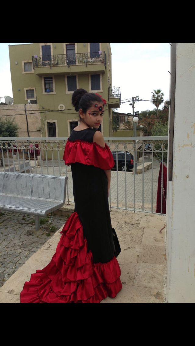 Spanish dancer costume by Colette koad