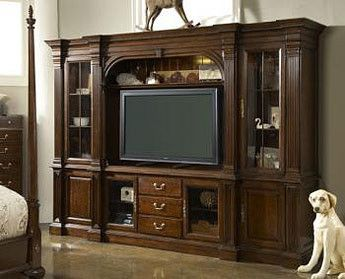American Cherry Salisbury Home Entertainment Wall Unit By Fine Furniture Design Cherries