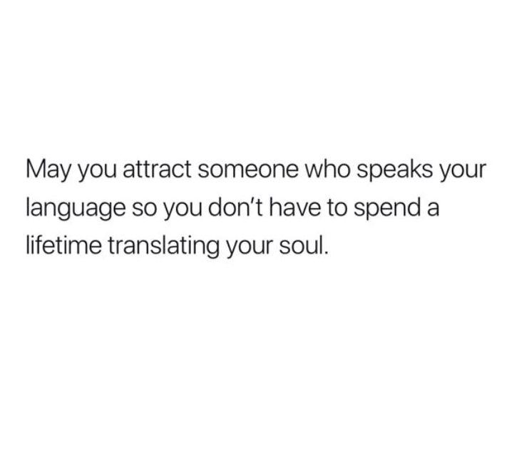 """SOUL LANGUAGE"""