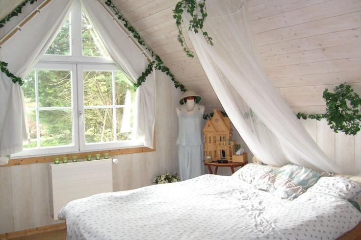 chambre romantique de nymphe