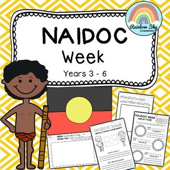 NAIDOC Week Activity Pack Years 3-6