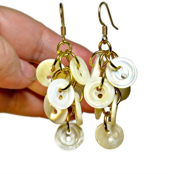 Hey, I found this really awesome Etsy listing at https://www.etsy.com/listing/100446188/mother-of-pearl-earrings-repurposed
