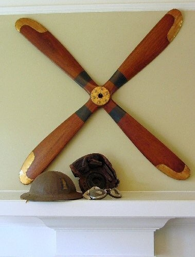 194 best airplane room images on pinterest vintage for Airplane propellers for decoration