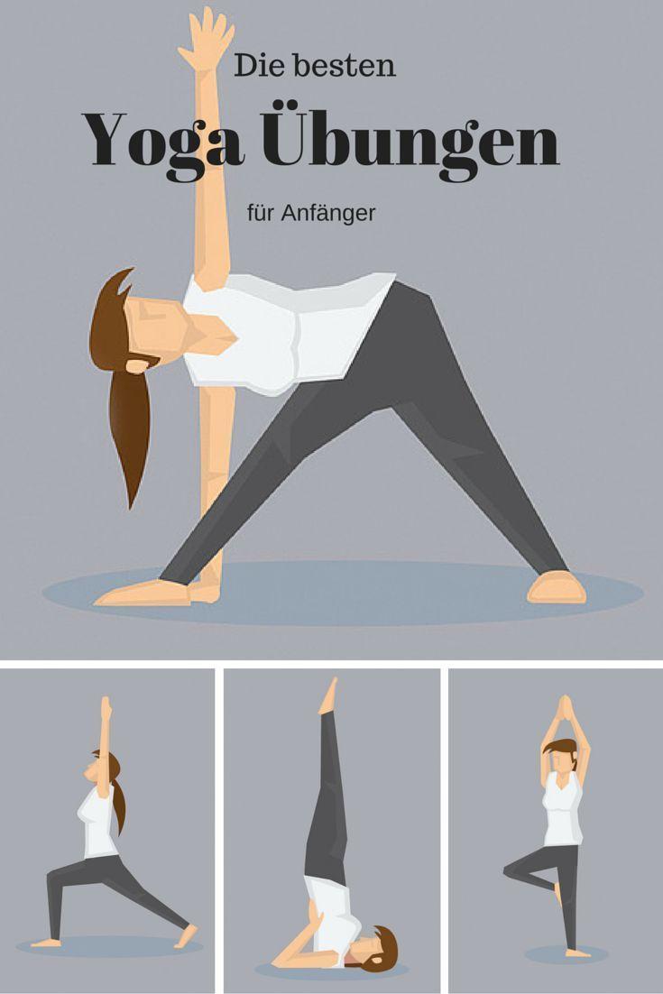 Yoga Positionen: Die besten Übungen für Anfänger