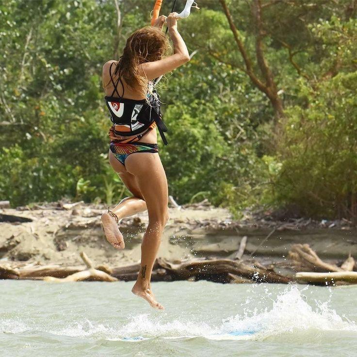 Rider @biancaforzano practising her salsa moves on water @longboat.chris