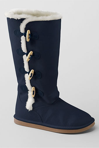 School Uniform Girls' Lillian Toggle Boots from Lands' End=> FYI- Currently Out of Stock :-(