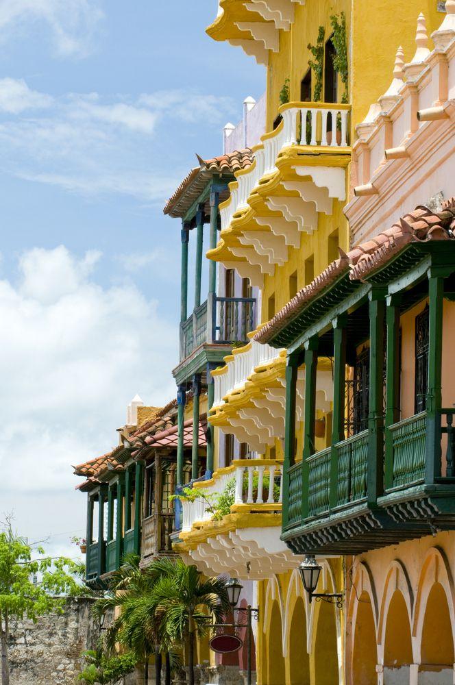 Edificios coloniales, Cartagena