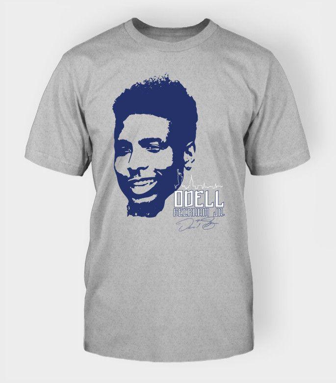 Odell Beckham Jr New York Giants Gear | OBJ13 Royal T-Shirt $29.99 #GiantsNation #NYG
