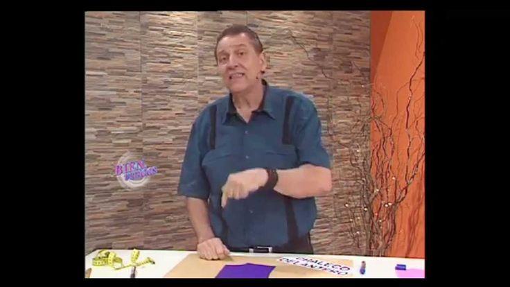 Nos enseña a hacer la DELANTERO DE UN CHALECO   Hermenegildo Zampar  - Bienvenidas TV - Nos enseña a hacer la Delantera ...