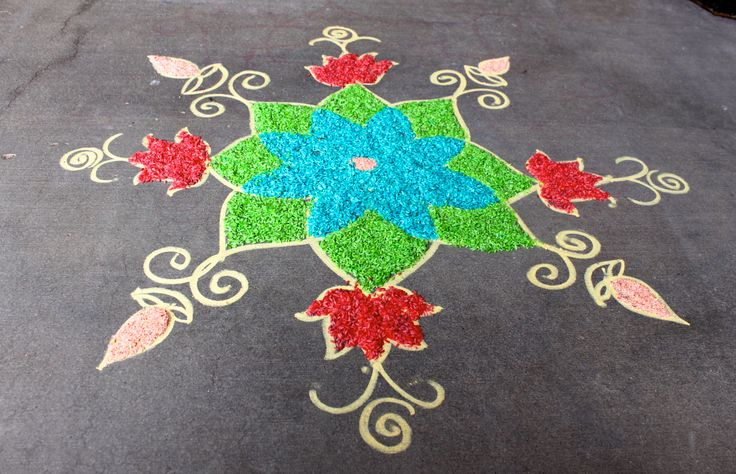 About Rangoli On Pinterest Coloring Pages And Hand Designs