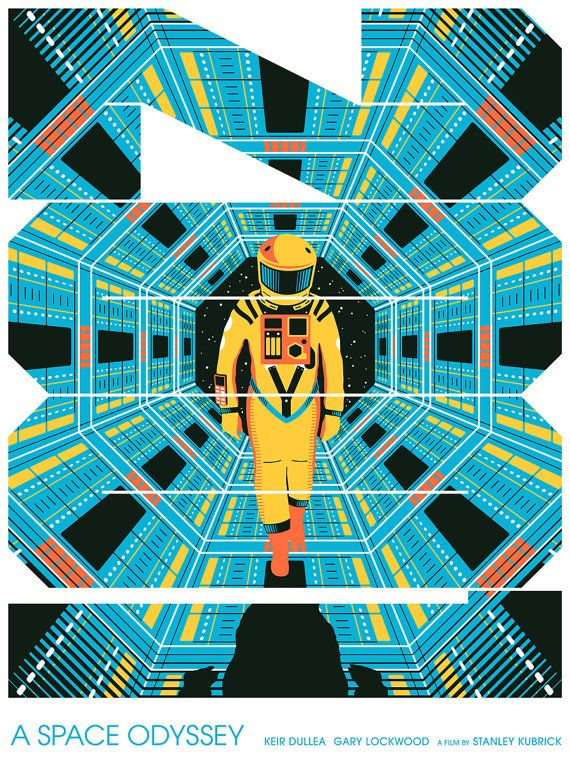 2001: A Space Odyssey Movie Poster Artist Proof