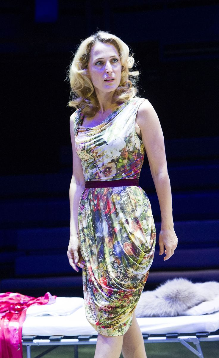 Gillian Anderson in A Streetcar Named Desire - 2014