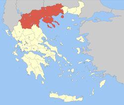 Όλα για την τάξη μου: Γεωγραφικό διαμέρισμα  Μακεδονία