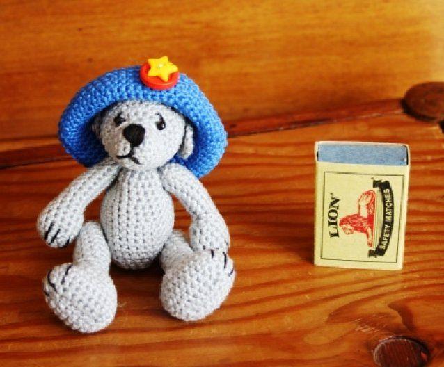 Buloo a mini bear of thread SOLD