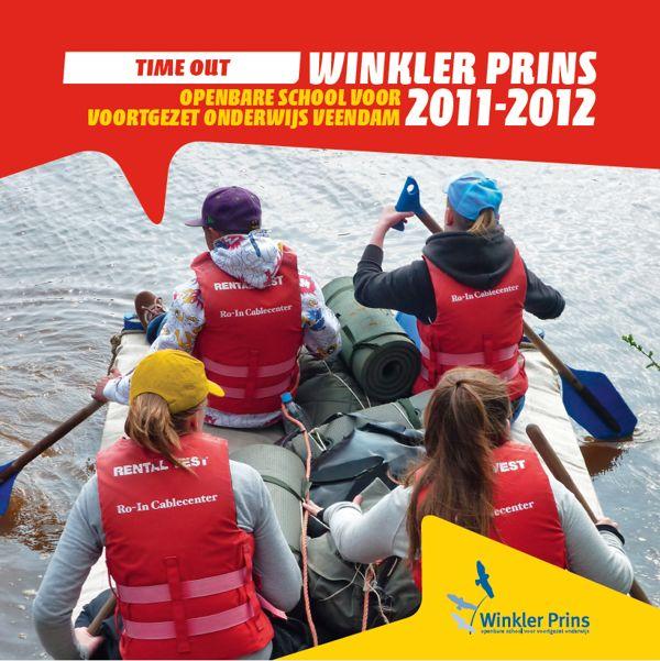 Restylen huisstijl Winkler Prins - Omslag brochures